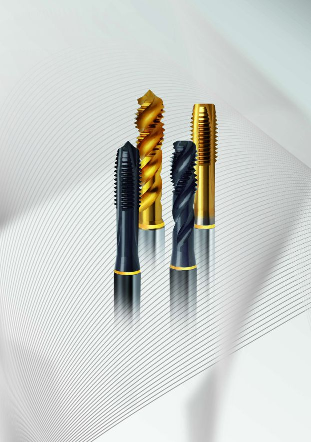 Guhring offers full range of threading tools for the creation of internal thread forms.