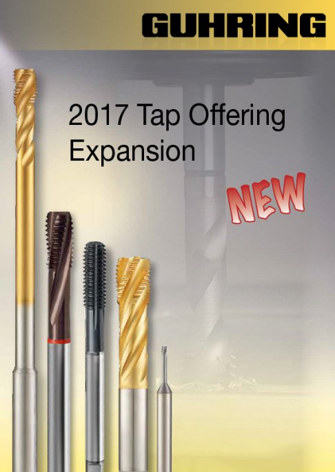 Guhring ANSI Taps 2017 Expansion