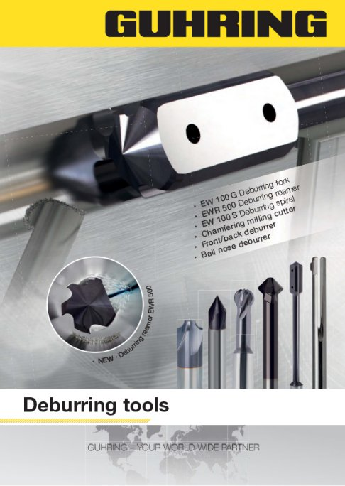 Guhring Deburring Tools - Full offering of tools for internal and external deburring operations