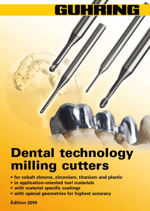 Guhring - Dental Technology Milling Cutters