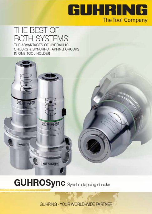 GuhroSync - Hydraulic Chucks and Synchro Tapping Chucks