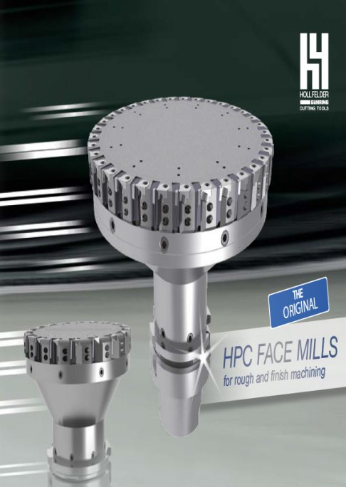 HPC Face Mill 2015 - For rough and finish machining