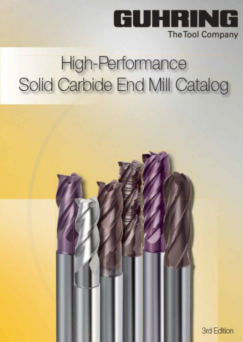 Guhring - High-performance solid carbide end mill catalog