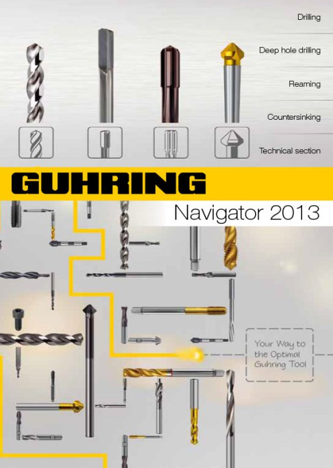 Guhring Navigator Toolfinder software - Your way to optimal guhring tool