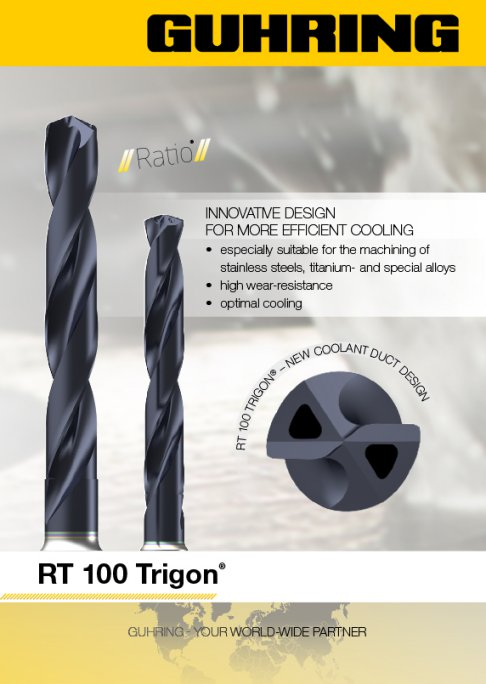 RT 100 Trigon Innovative design for more efficient cooling.