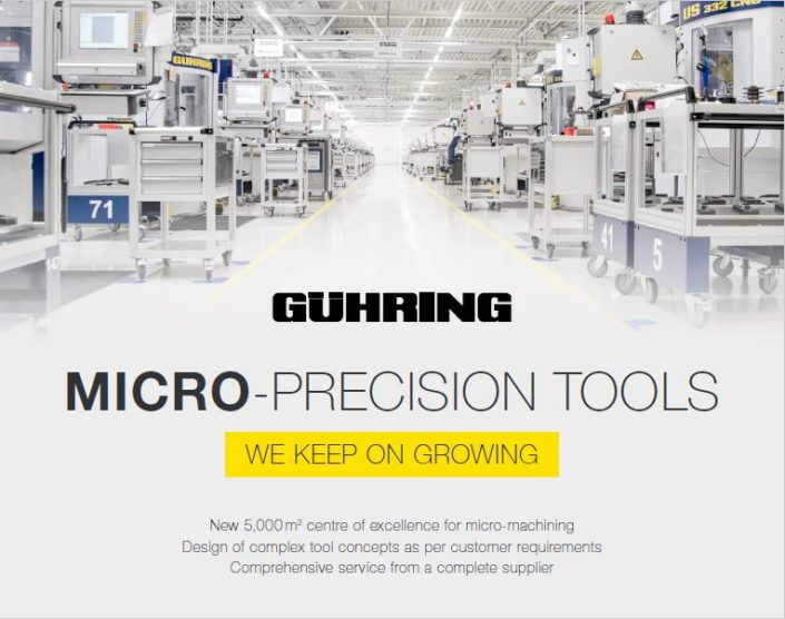 MIcro-Precision Tools - We Keep On Growing