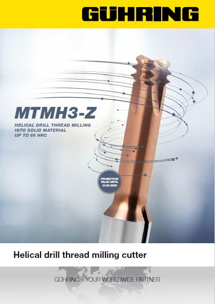 Helical Drill Thread Milling